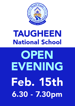 We are holding our open evening February 15th. Please feel free to come meet the teachers and staff of our school